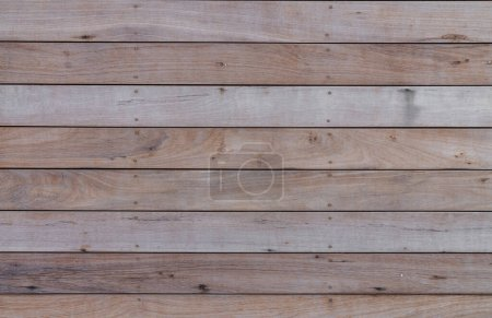 Photo for Grunge wood plank texture with natural grain / background texture / interior material - Royalty Free Image
