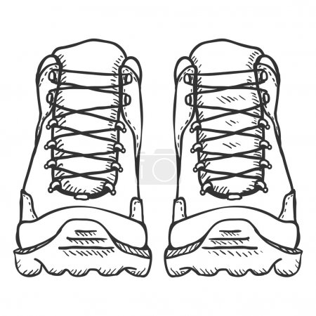 Extreme Hiking Boots.