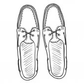 Pair of Topsider Men Shoes