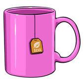 Vector Cartoon Single Mug