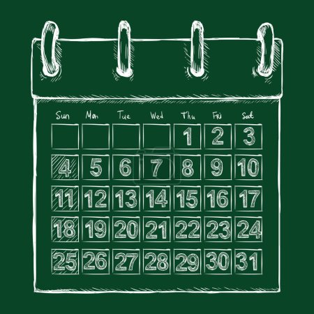 Sketch Loose-leaf Calendar