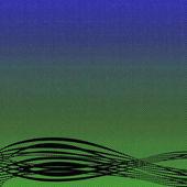 Abstraktní modré pozadí
