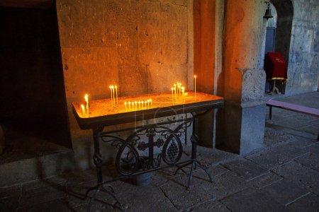 Photo pour Monastère de Haghpat dans les montagnes du Caucase, Arménie - image libre de droit