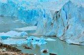 Edge of Perito Moreno glacier.