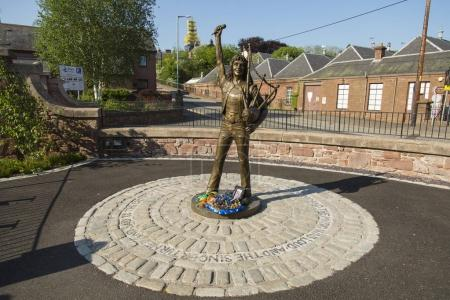 Statue of Bon Scott original