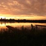 Mantua skyline at sunset...