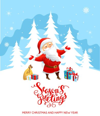 Santa Claus holiday cartoons