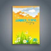 design of Summer card