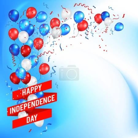 Greeting Card for American Independence Day