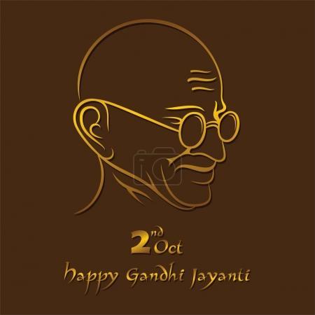 Плакат Махатмы Ганди