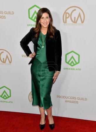 Photo for SANTA MONICA, USA. January 18, 2020: Margaret Riley at the 2020 Producers Guild Awards at the Hollywood Palladium - Royalty Free Image