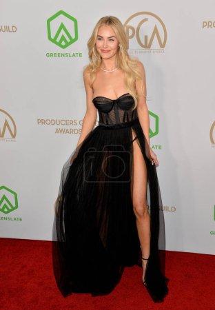 Photo for SANTA MONICA, USA. January 18, 2020: Michelle Randolph at the 2020 Producers Guild Awards at the Hollywood Palladium - Royalty Free Image
