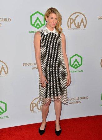 Photo for SANTA MONICA, USA. January 18, 2020: Laura Dern at the 2020 Producers Guild Awards at the Hollywood Palladium - Royalty Free Image
