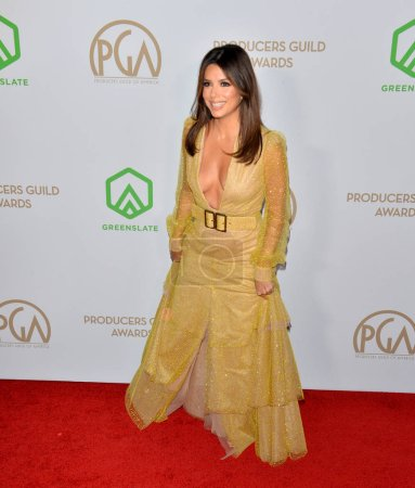 Photo for SANTA MONICA, USA. January 18, 2020: Eva Longoria at the 2020 Producers Guild Awards at the Hollywood Palladium - Royalty Free Image