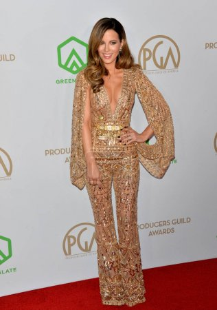 Photo for SANTA MONICA, USA. January 18, 2020: Kate Beckinsale at the 2020 Producers Guild Awards at the Hollywood Palladium - Royalty Free Image