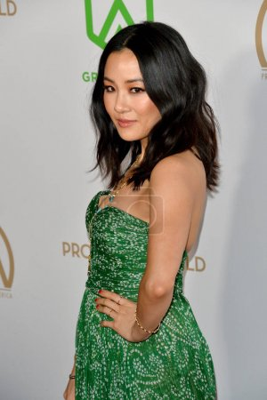 Photo for SANTA MONICA, USA. January 18, 2020: Constance Wu at the 2020 Producers Guild Awards at the Hollywood Palladium - Royalty Free Image