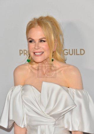 Photo for SANTA MONICA, USA. January 18, 2020: Nicole Kidman at the 2020 Producers Guild Awards at the Hollywood Palladium - Royalty Free Image