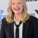 SANTA MONICA, CA: 08, 2020: Elisabeth Moss at the ...