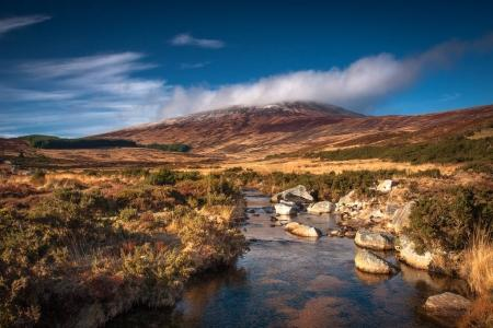 Cold afternoon in Wicklow Mountains