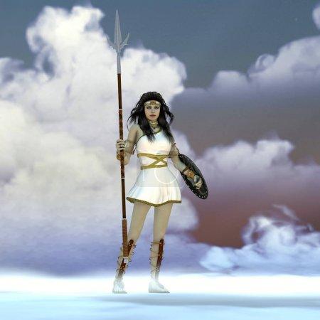 Athéna Déesse grecque