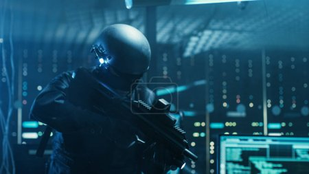 Cyber War Special Forces Fully Armed Soldier Uncovers Internatio