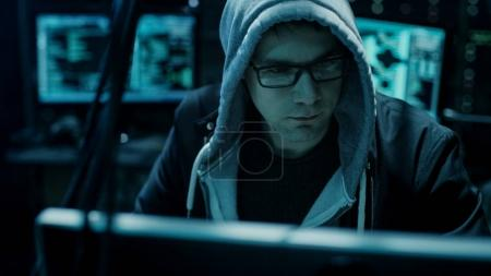 Dangerous Hooded Hacker Breaks into Government Data Servers and