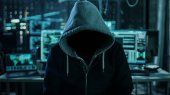 Dangerous Internationally Wanted Hacker Wth Hided Face Looking i