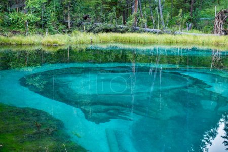 amazing azure lake