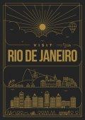 Template of Rio De Janeiro city