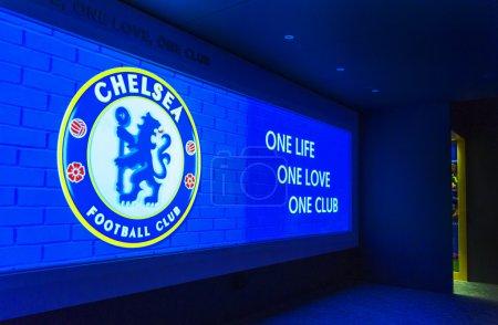 At Stamford Bridge Stadium Museum
