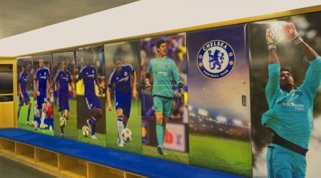 At Stamford Bridge Stadium