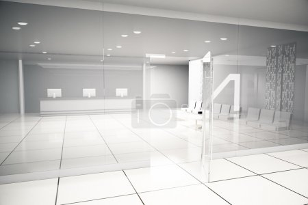 Luxurious business interior