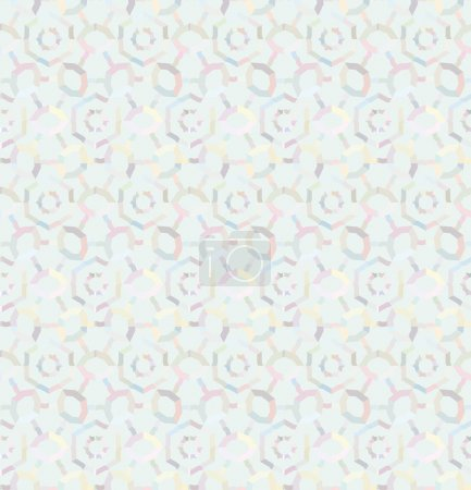 Illustration for Seamless pattern with hearts. endless background. vector illustration - Royalty Free Image