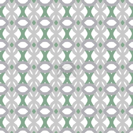 Illustration for Abstract geometric pattern background in vector - Royalty Free Image