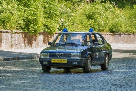Старые ретро автомобилей Альфа Ромео