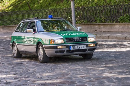 Old retro car Audi 80