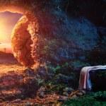 Crucifixion At Sunrise - Empty Tomb With Shroud - ...