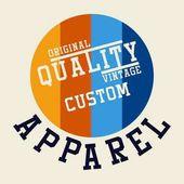 graphic design ORIGINAL QUALITY VINTAGE