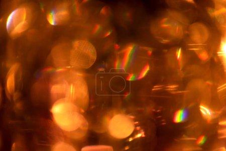Foto de Resumen festivo de fondo lleno de colorido bokeh. - Imagen libre de derechos