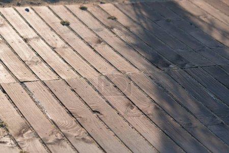 Foto de Textura de paneles de madera. Fondo de tablones . - Imagen libre de derechos