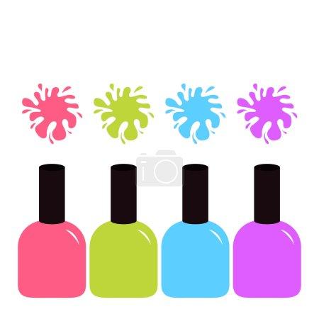 nail polishes set