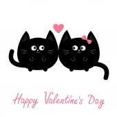 black cats couple