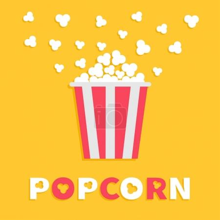 Popcorn popping box package