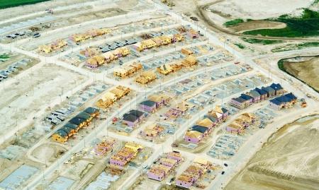 Foto de Vista de ángulo alto de la obra, en el día, Toronto, Ontario, Canadá - Imagen libre de derechos