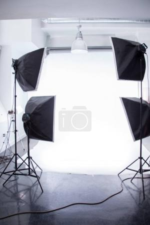 illuminated photoshoot lights
