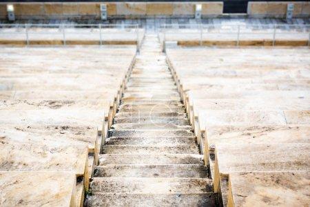 Photo pour Pas au stade panathénaïque. Athènes, Grèce - image libre de droit