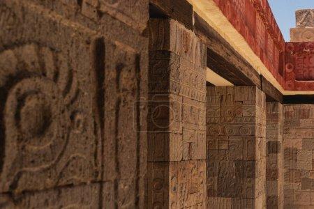 Teotihuacan, México, la ciudad precolombina más importante y más grande de México y lugar de muchas de las pirámides mesoamericanas más significativas arquitectónicamente construidas en las Américas precolombinas.
