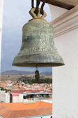 Bronze Church Bell on La Merced Church, Sucre, Bolivia