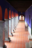 Arched Walkway of San Francisco Cloister in La Paz, Bolivia