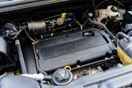 The car engine photo
